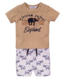2 pce babysuit shorts