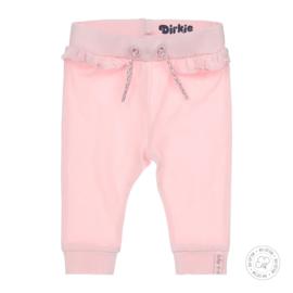 Dirkje meisjes effen broekje licht roze  Bio Katoen