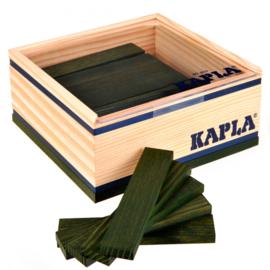 Kapla, 40 plankjes donker groen