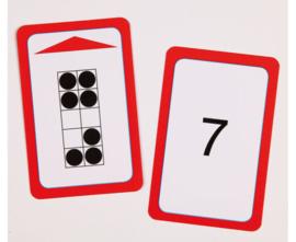 Magische hoed opdrachtkaarten, tellen tot 10