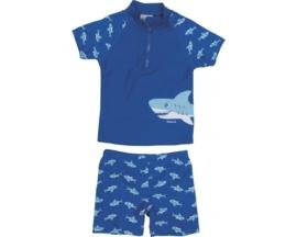Zwemset UV werend haaien 2-delig