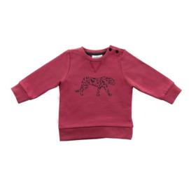 Jollein Truitje Leopard maroon red