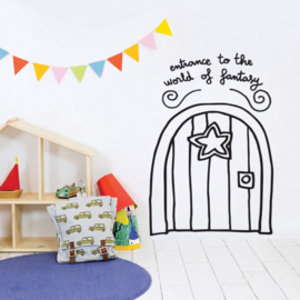 Chispum Wall Sticker - Entrance To The World Of Fantasy