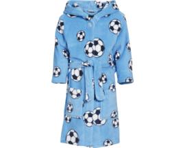 Badjas voetbal blauw