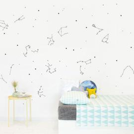 Chispum Wall Sticker - Glow in the dark - Kids Constellations