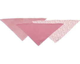 Set van drie slab bandana's meisje (3pack)