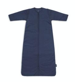Jollein baby slaapzak jeans blue met afritsbare mouw