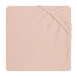 Hoeslaken Ledikant Katoen 60x120cm - Pale Pink - 2 Stuks