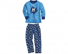 Pyjama blauw voetbal