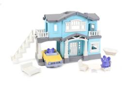 Greentoys poppenhuis blauw