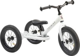 Trybike Steel  2-in-1 loopfiets/driewieler wit