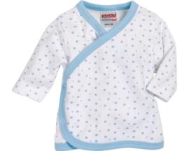 Wikkel shirt blauw ster