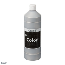 Creall color plakkaatverf 500 ml  zilver