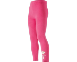 Legging lang roze vlinder maat 98