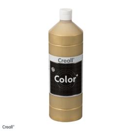 Creall color plakkaatverf 500 ml  goud