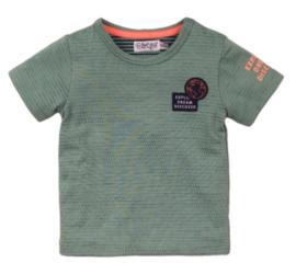 Dirkje shirt Explore sage green
