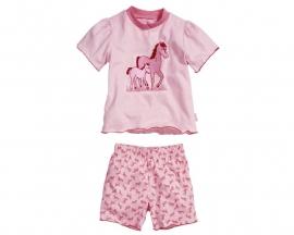 Shortama roze paarden