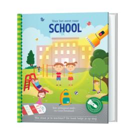 Zaklampboek Voor het eerst naar school