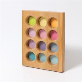 Grimm's sorteerbord pastelkleuren  10577