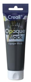 Creall Opaque zwarte dekverf