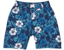 Playshoes Zwembroek UV werend Blue Hawaii  maat 134/140