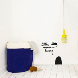 Chispum Wall Sticker - Little Mouse House
