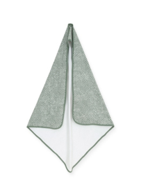Jollein Badcape 75x75cm Snake ash green