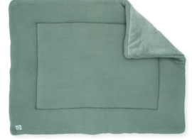 boxkleed 80x100cm basic knit forest green