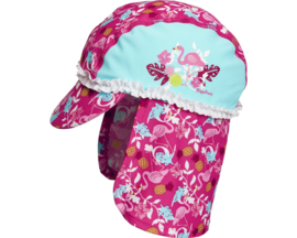 Zonnepet UV werend Flamingo