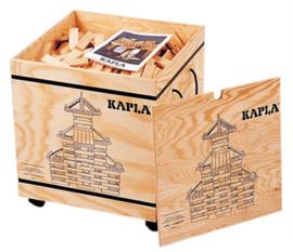 Kist Kapla op wielen met 1000 plankjes
