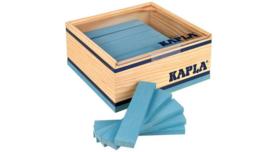 Kapla, 40 plankjes licht blauw