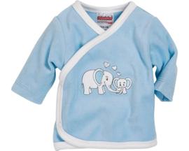 Wikkel shirt Nicki olifant blauw  maat 56
