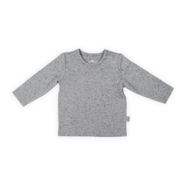 Jollein Shirt lange mouw Speckled grey