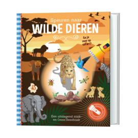 Zaklampboek Speuren naar wilde dieren