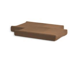 Aankleedkussenhoes Badstof 50x70cm - Caramel - 2 Stuks