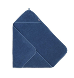 Jollein badcape terry 75x75 cm jeans blue