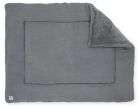 Boxkleed 80x100cm basic knit stone grey
