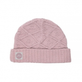 Muts Diamond knit vintage pink
