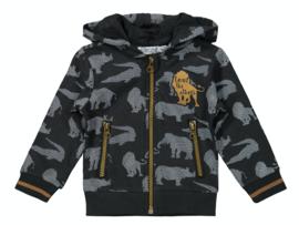 Dirkje vest safari met capuchon