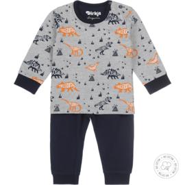 Dirkje jongens Pyjama Animals Bio Katoen