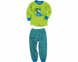Pyjama dino badstof