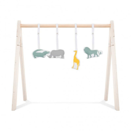 Jollein houten babygym Safari  COMPLEET
