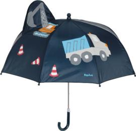 3D Paraplu bouwplaats