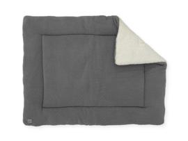 Boxkleed 80x100cm Bliss knit storm grey