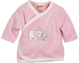 Wikkel shirt Nicki olifant roze  maat 56