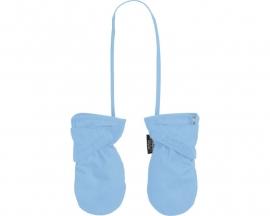 Babyhandschoen 0-12 maanden licht blauw