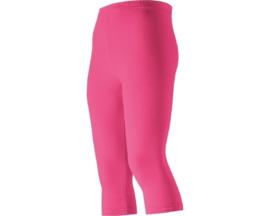 Legging capri roze