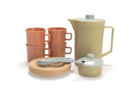 Koffieservies 17-delig Bioplastic