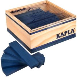 Kapla, 40 plankjes donker blauw