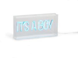 Neon Verlichting - It's A Boy - Lichtblauw